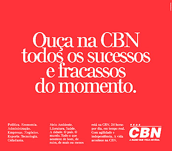 """Ouça na CBN..."", da Contemporânea"
