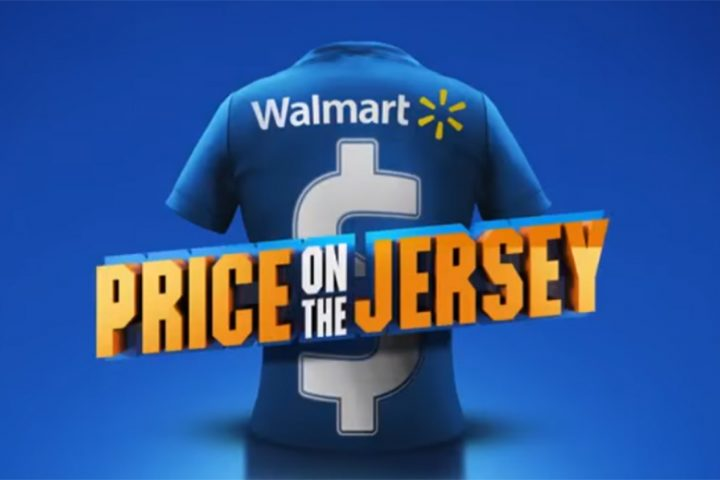 """Price of the Jersey"", da DM9DDB para Walmart"