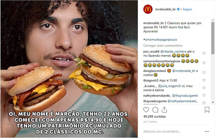 Marcão, personagem do meme da DPZ&T para o McDonald's