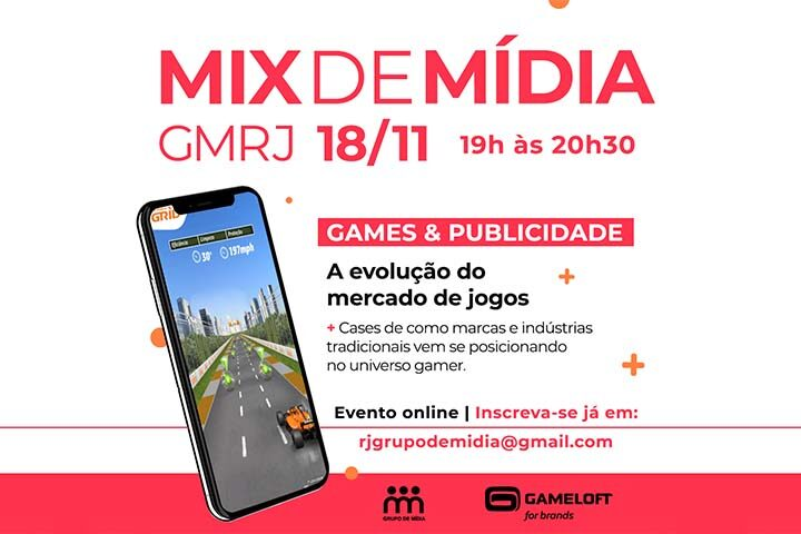 Mix de Mídia do GMRJ: Games