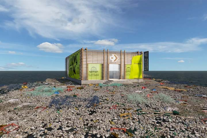 Converse Garbage Patch Store